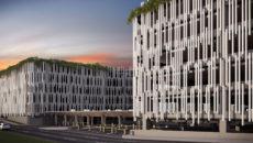 fachada aeroporto internacional do rio de janeiro, projeto escritório de arquitetura sérgio conde caldas